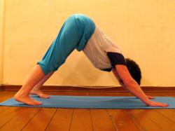 Сколиоз йога