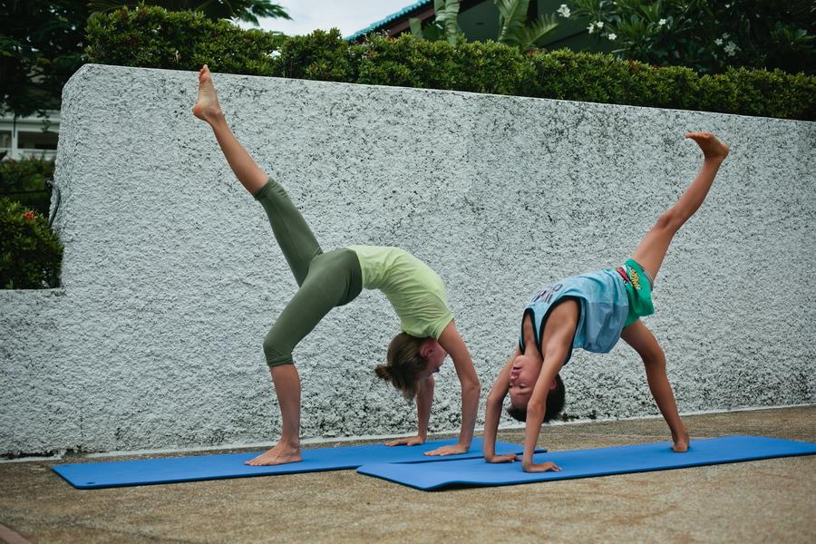 Детская йога Тайланд