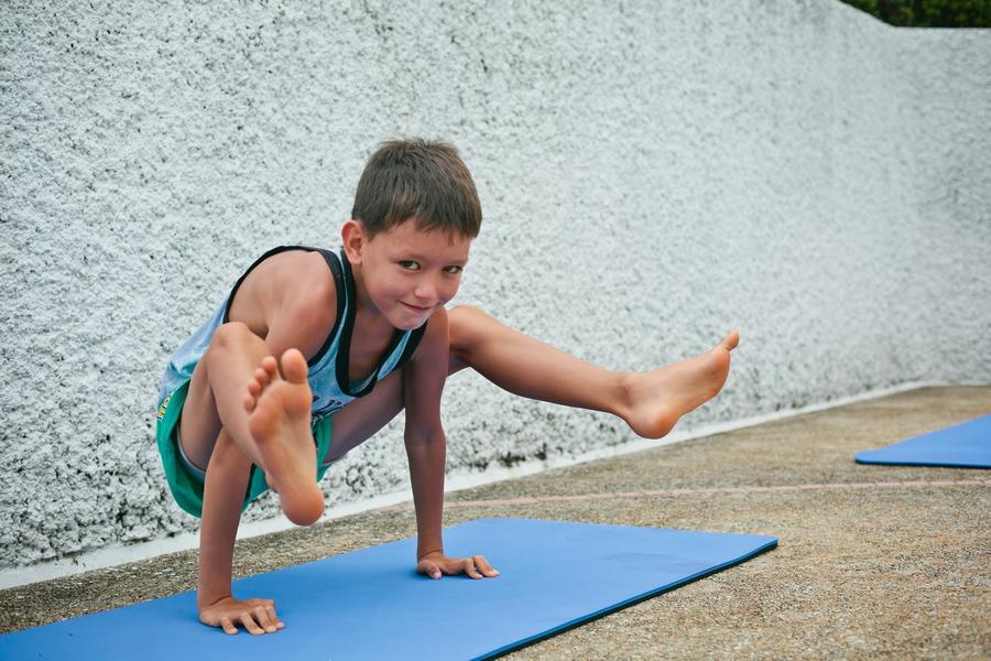 Детская йога Паттайя