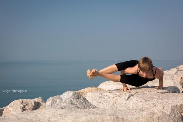 Инструктор йоги Юлия Буренок