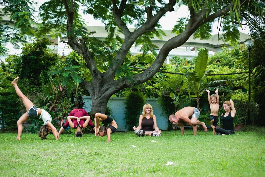 Йога для всей семьи в Паттайе