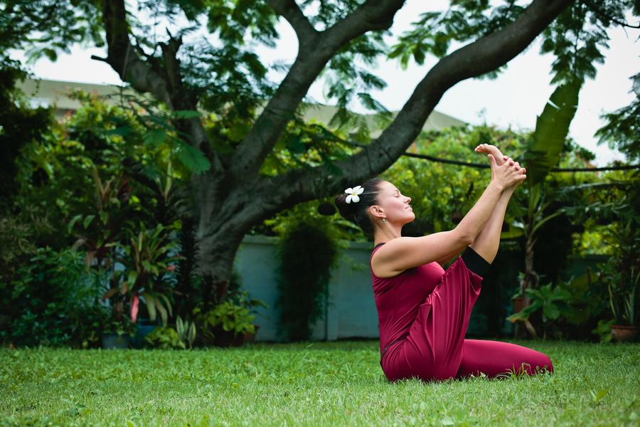 Инструктор йоги Санкт-Петербург Анна Ахметчина