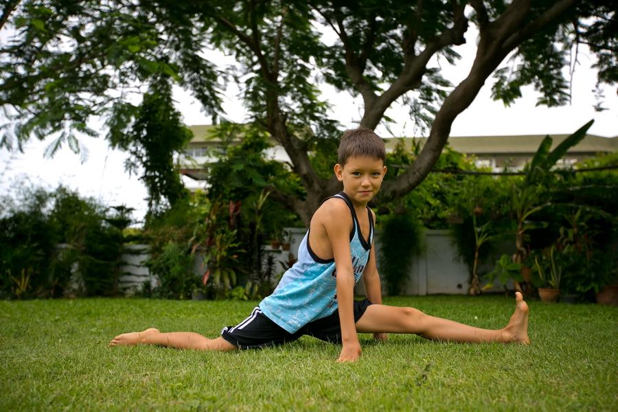 Детская йога в Паттайе