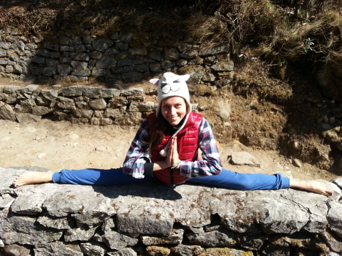йога трек к Эвересту Гималаи (13)