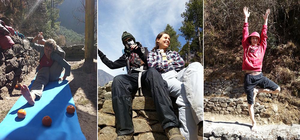 йога трек к Эвересту Гималаи (12)