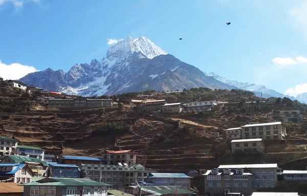 йога трек к Эвересту Гималаи (5)