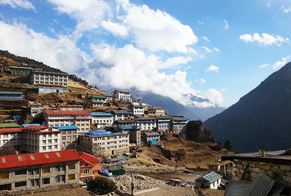 йога трек к Эвересту Гималаи (2)