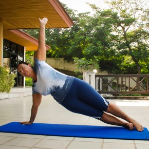 Йога для похудения, йога-кэмп в Тайланде (9)