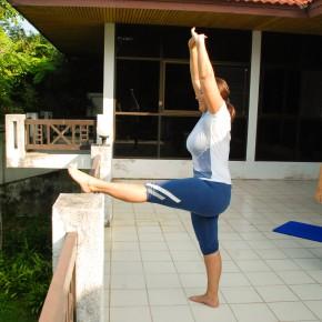 Йога для похудения, йога-кэмп в Тайланде (1)