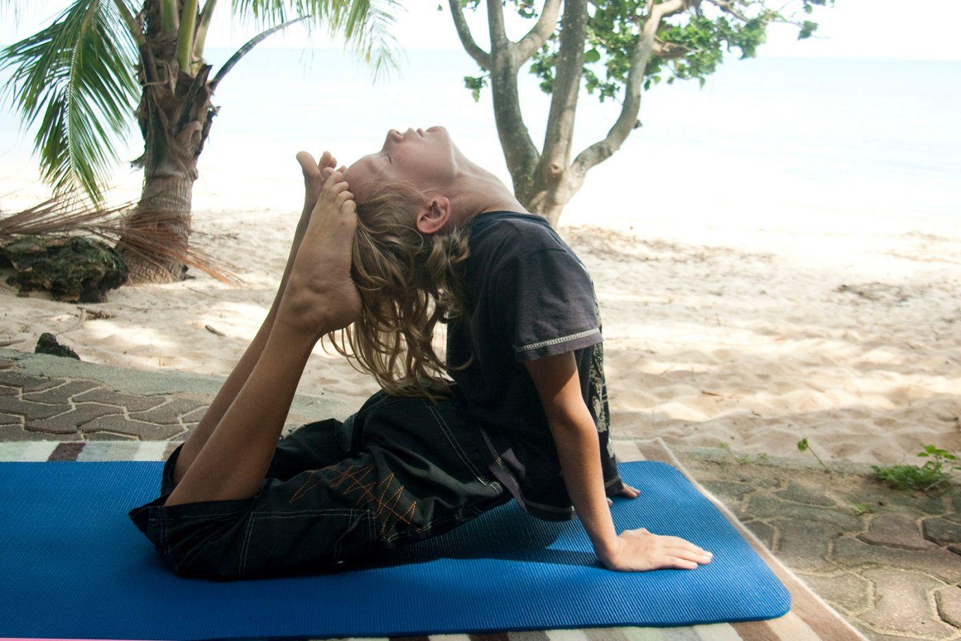Йога от остеохондроза грудного отдела