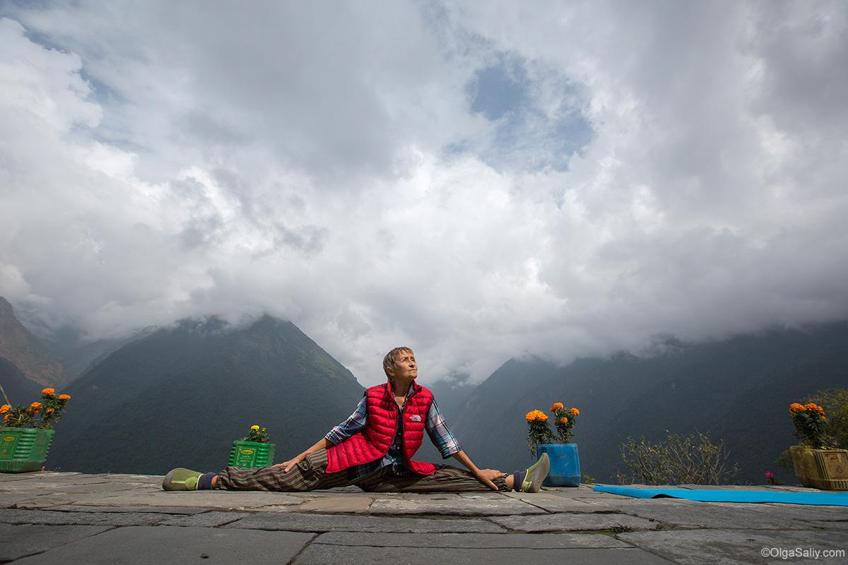 Йога тур в Гималаях, учитель йода