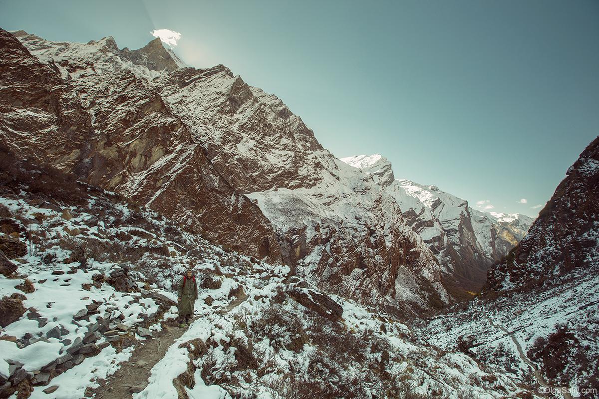 Йога тур в Гималаях, Непал. Трек ABC (16)