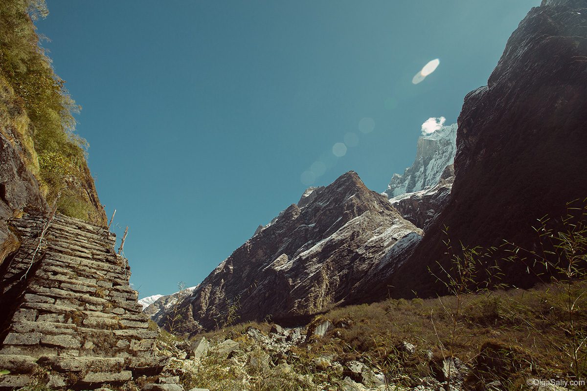 Йога тур в Гималаях, Непал. Трек ABC (15)