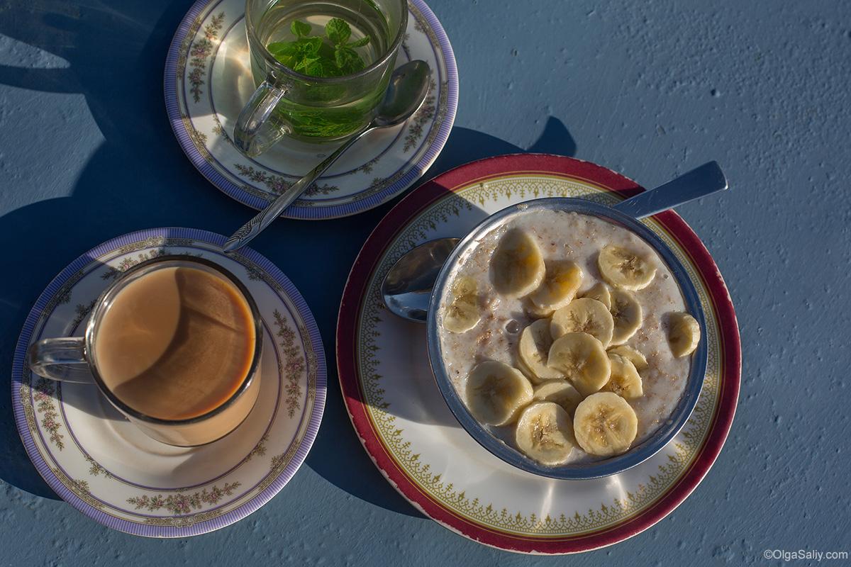 Завтрак на треке АВС