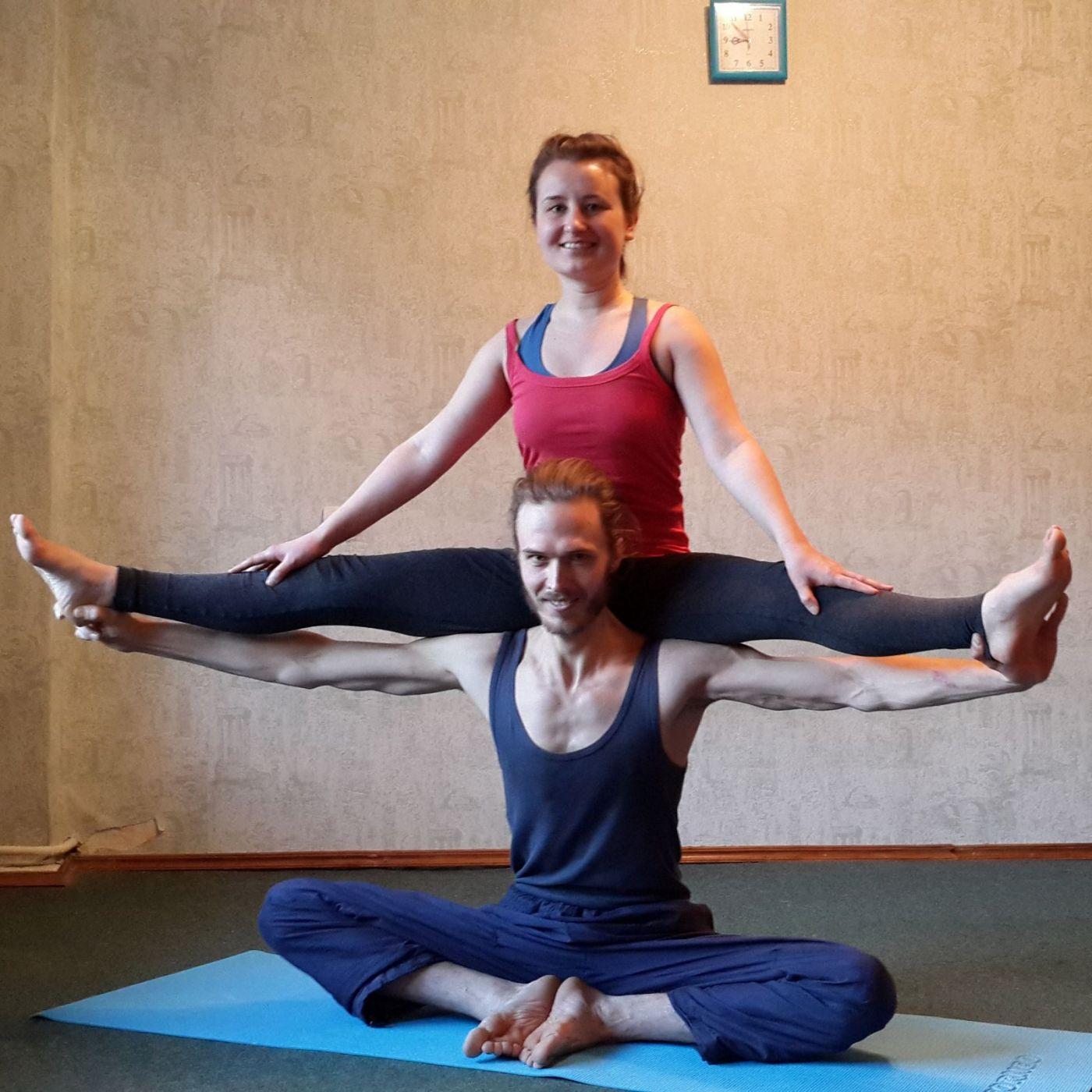 Отзыв о курсе йогатерапии в Москве. Катя и Алексей, Смоленск