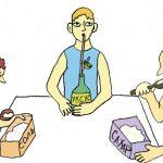 Здоровое питание и еда для болезней