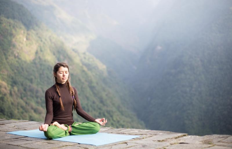 Малика, Алматы, отзыв о йога туре в Непале
