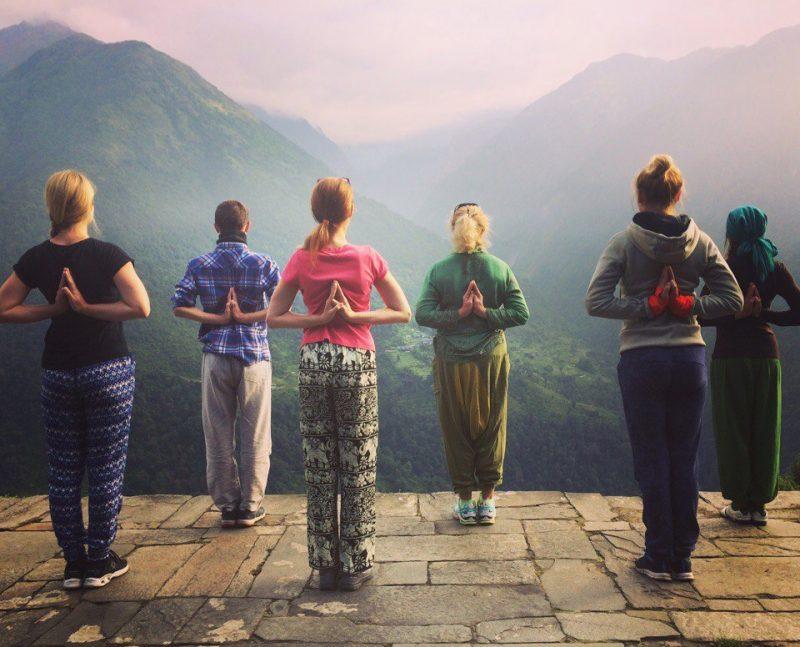 Йога ретрит в Непале